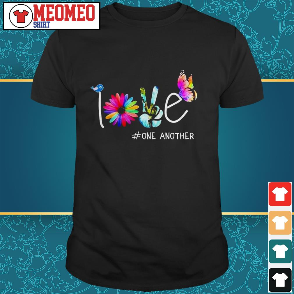Official love one another shirt