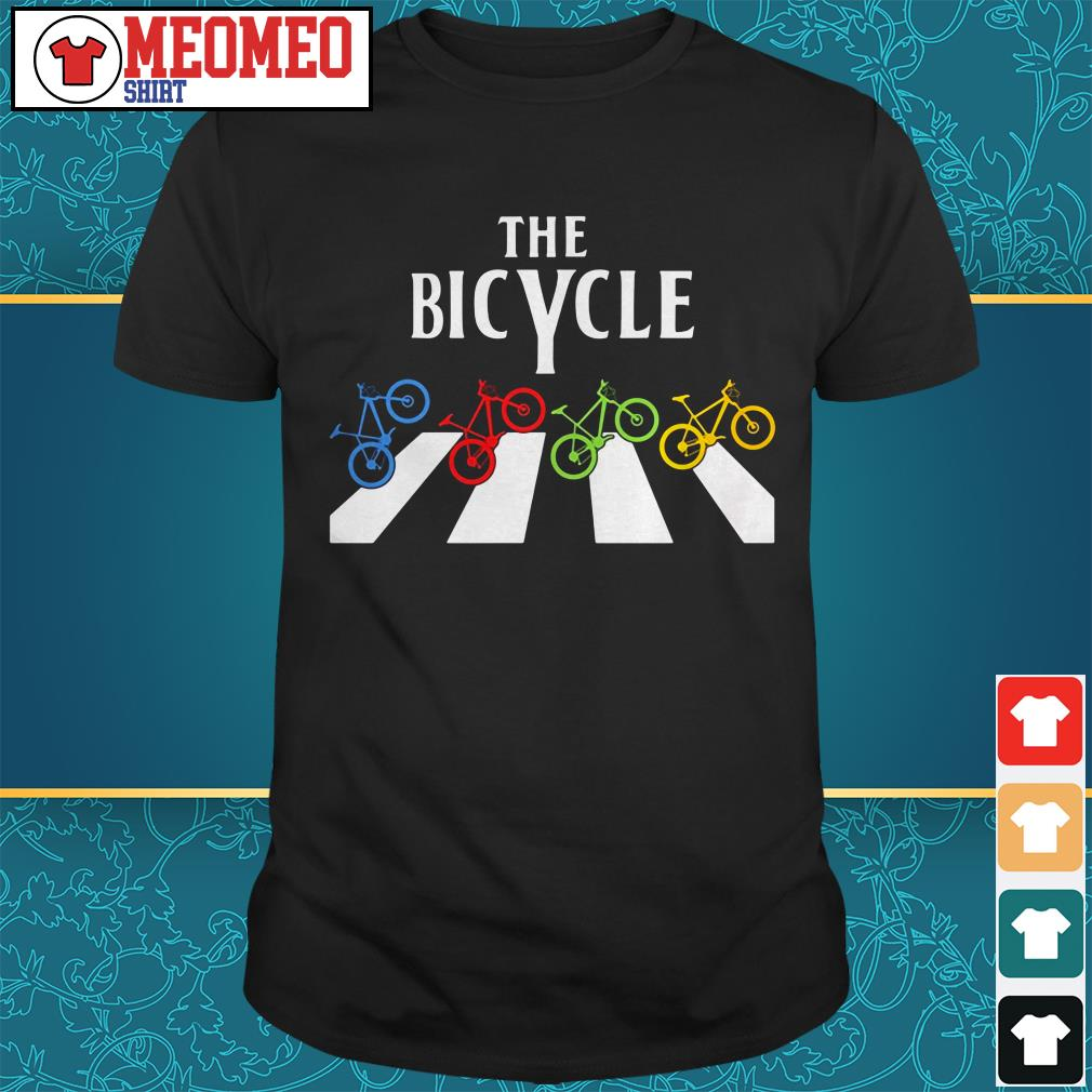 The Bicycle Abbey Road shirt