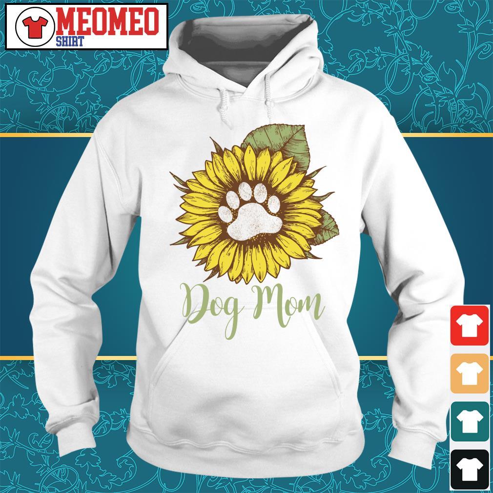 Sunflower paw dog mom s Hoodie