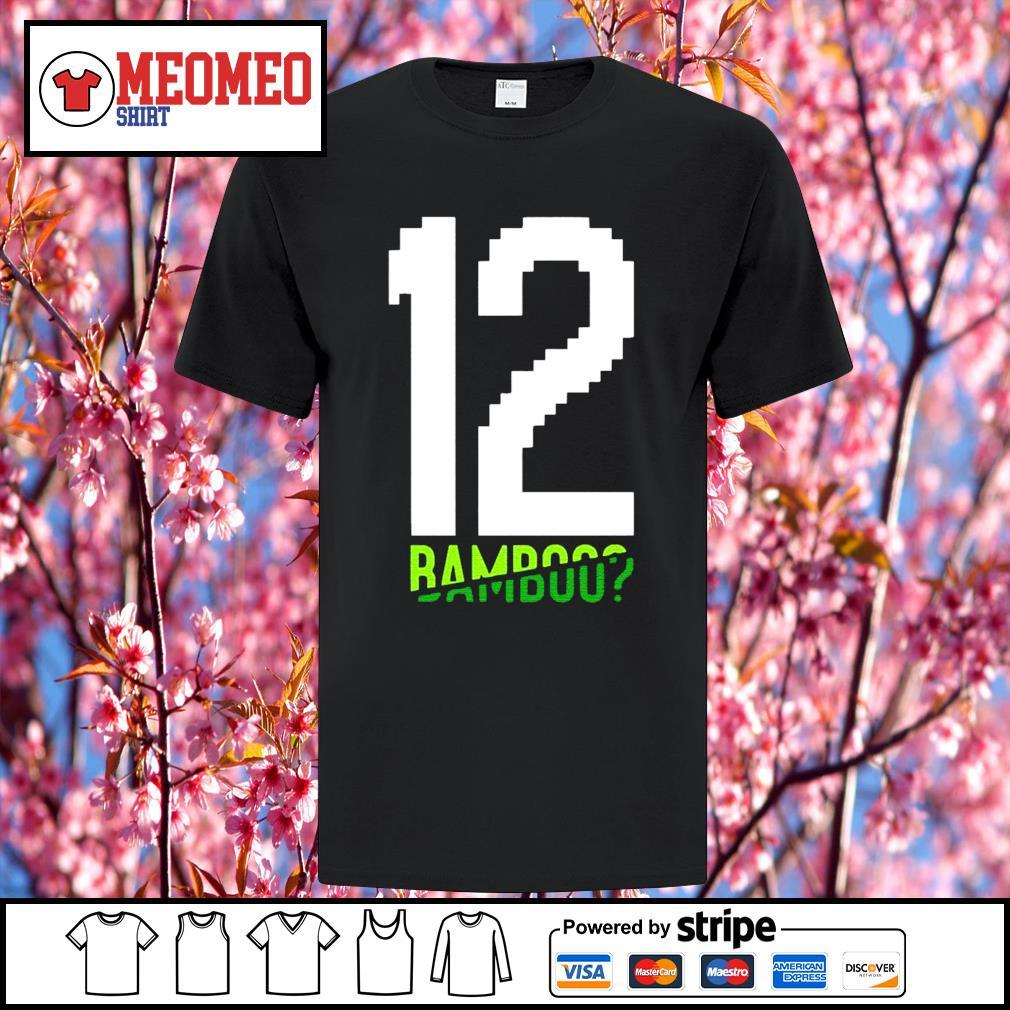 12 Tom Brady bamboo shirt