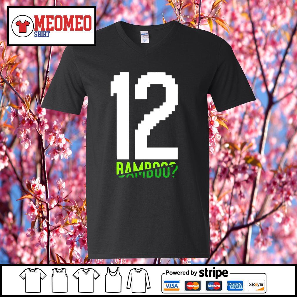 12 Tom Brady bamboo s V-neck-T-shirt
