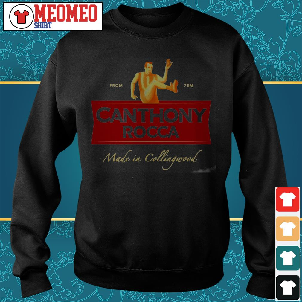 From 75m Canthony Rocca made in Collingwood Sweater