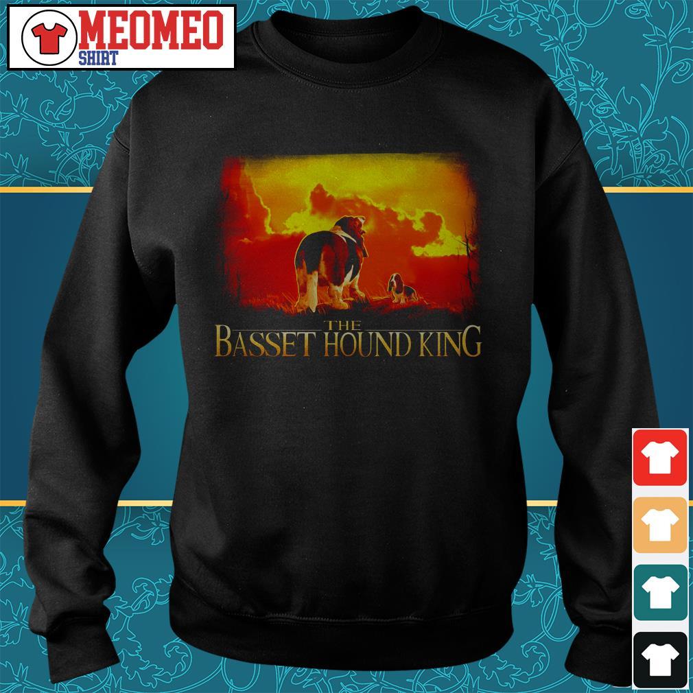 The basset hound king Sweater