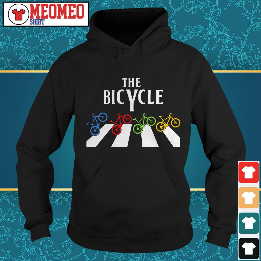 The Bicycle Abbey Road Hoodie