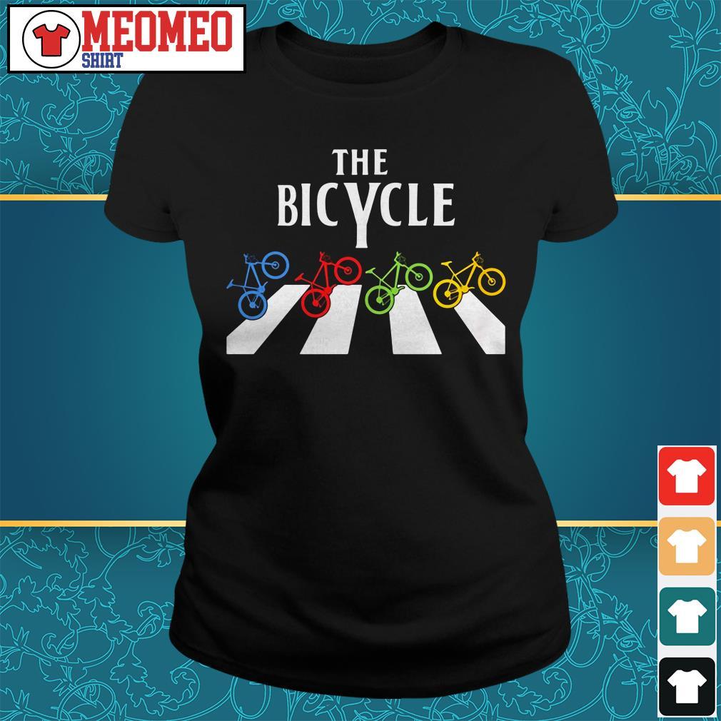 The Bicycle Abbey Road Ladies tee