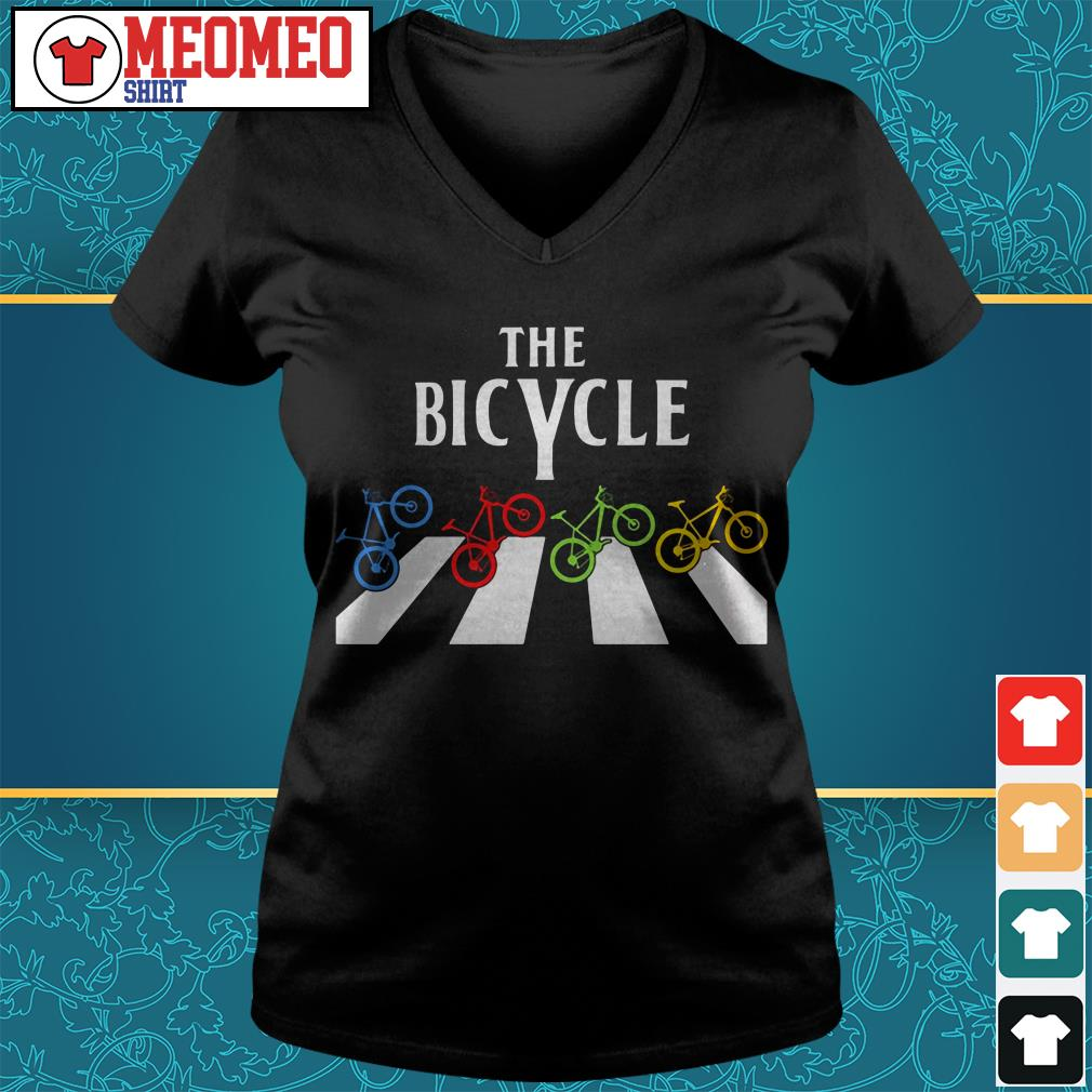 The Bicycle Abbey Road V-neck t-shirt