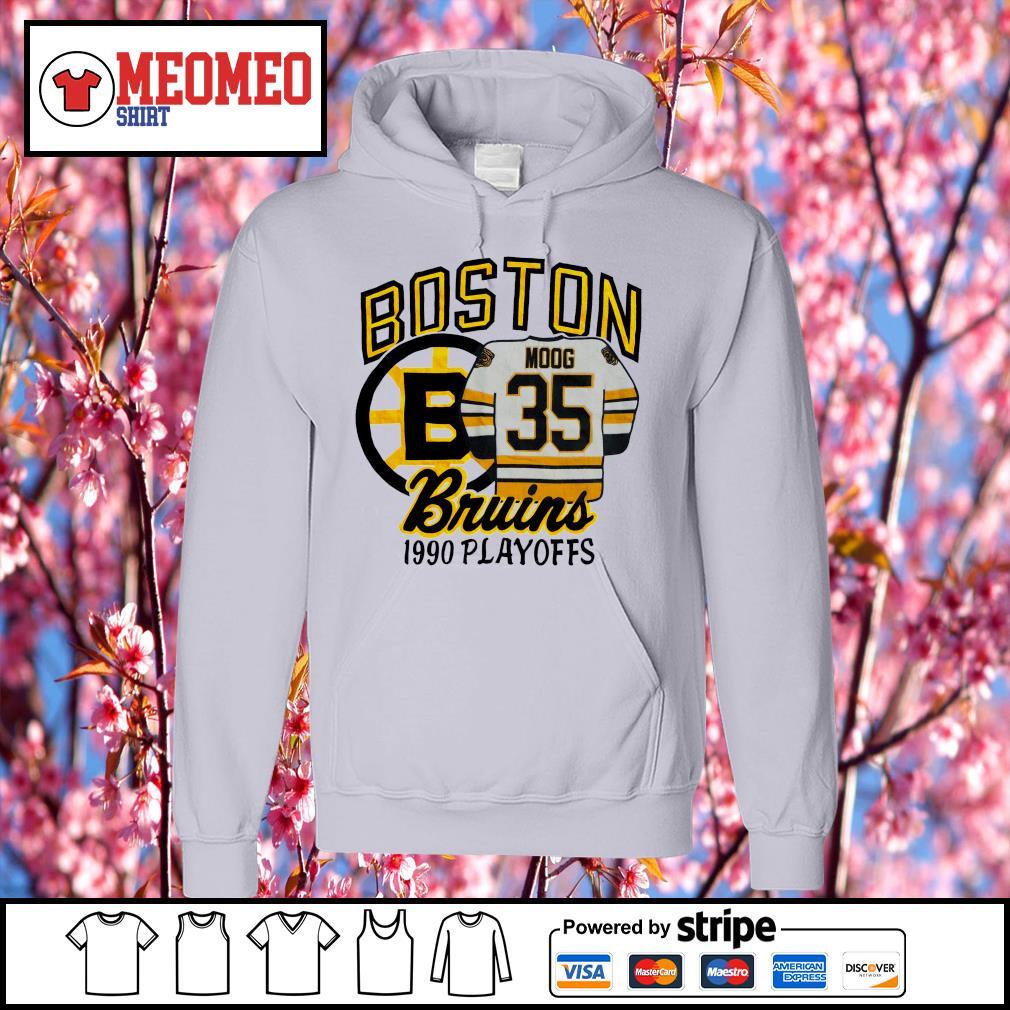 Boston moog bruins 1990 playoffs s Hoodie