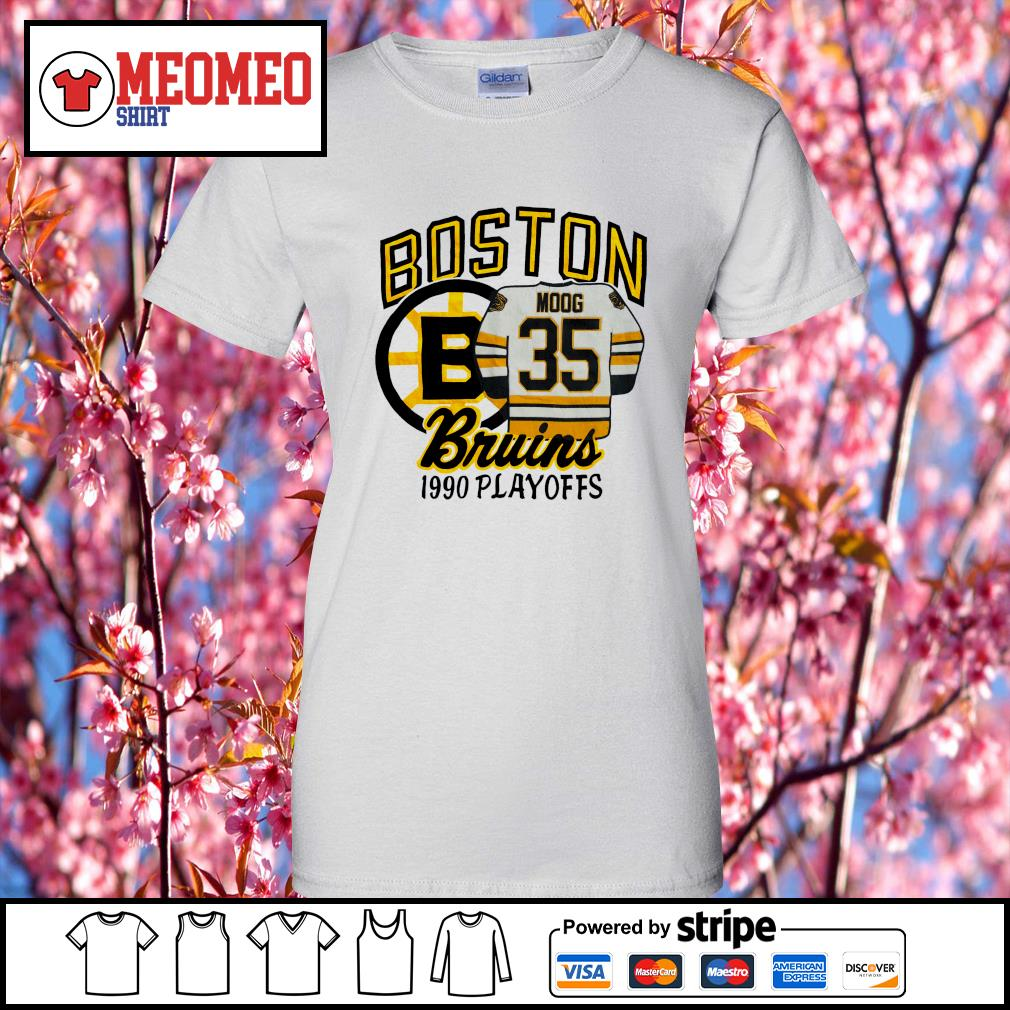 Boston moog bruins 1990 playoffs s Ladies-Tee