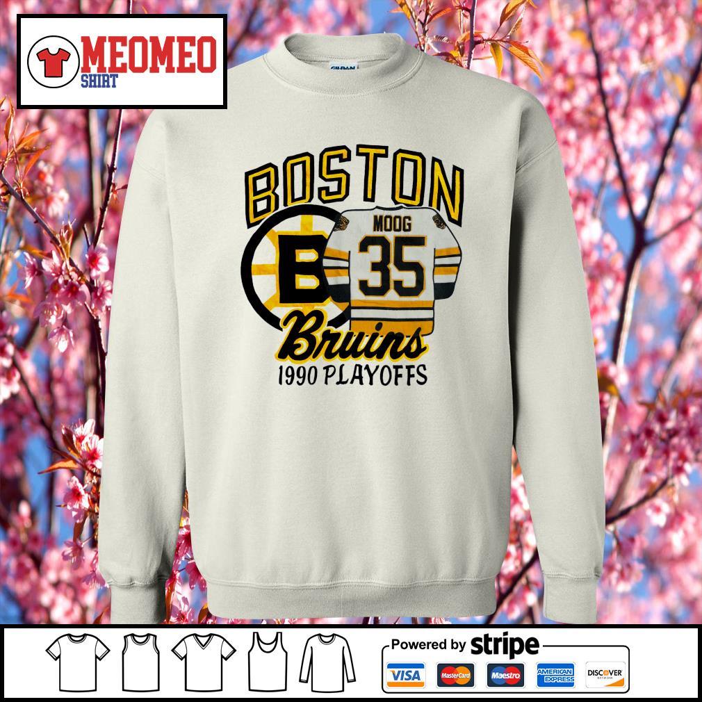 Boston moog bruins 1990 playoffs s Sweater