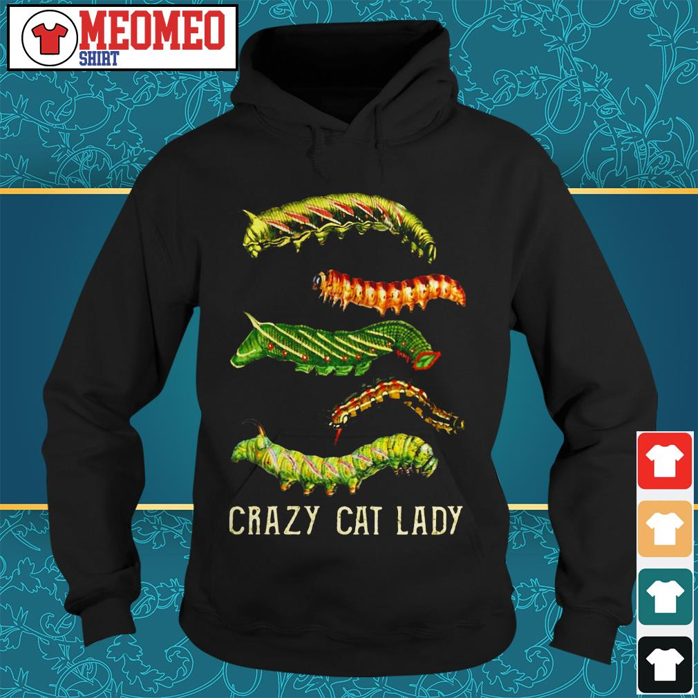 The bugs crazy cat lady Hoodie