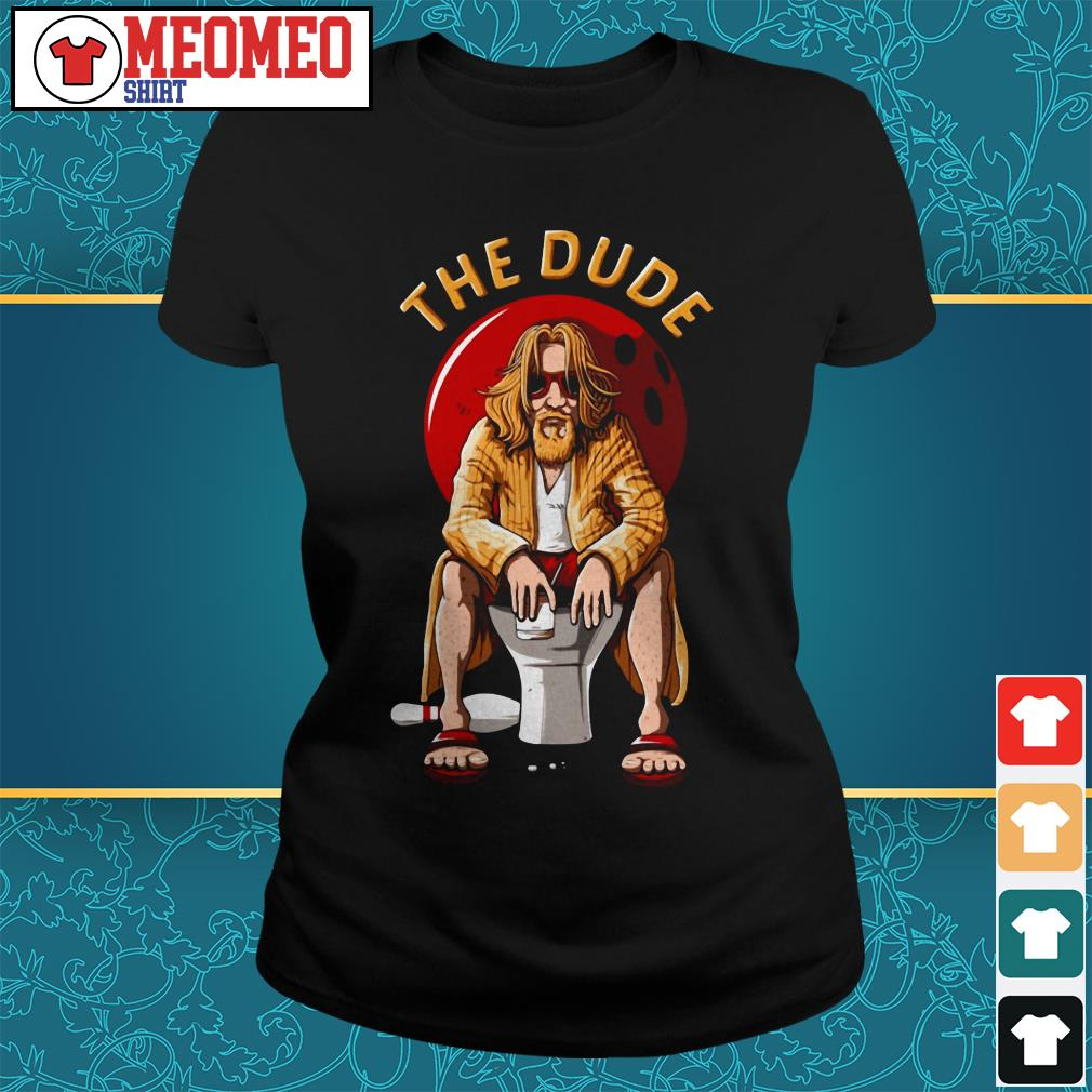 The Dude bowling Ladies tee