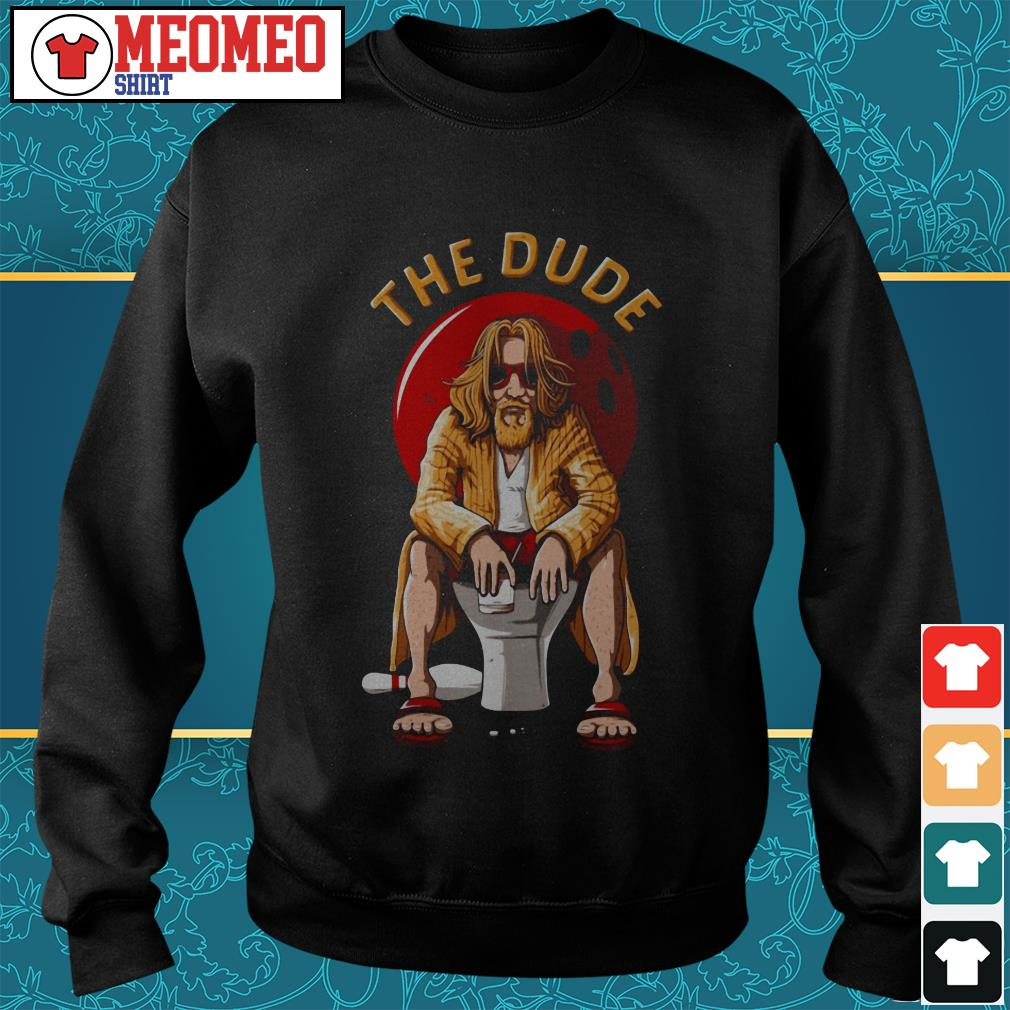 The Dude bowling Sweater