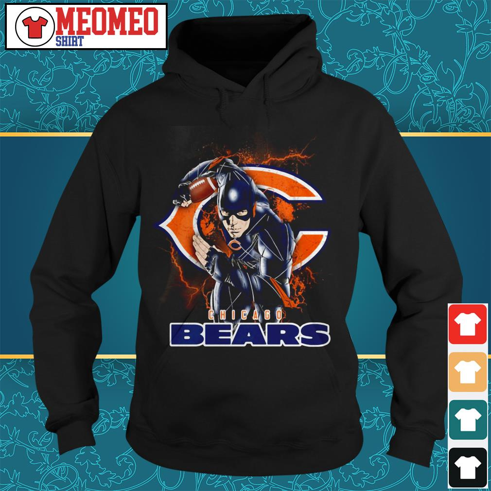 The flash Chicago Bears Hoodie