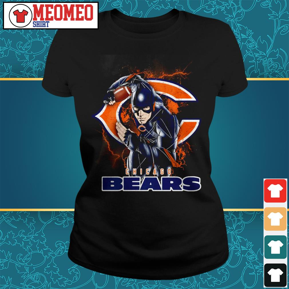 The flash Chicago Bears Ladies tee