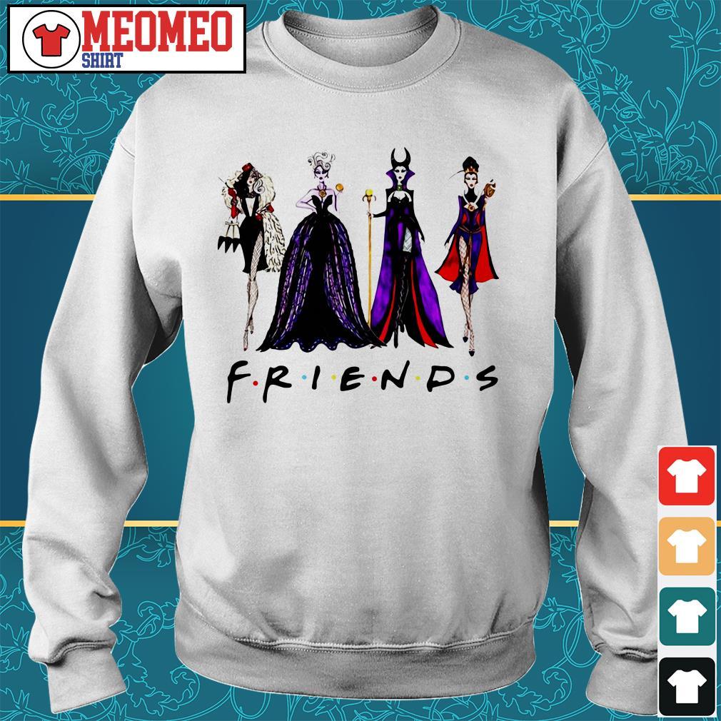 Friends Disney Maleficent Evil Queen Ursula Cruella de Vil Sweater