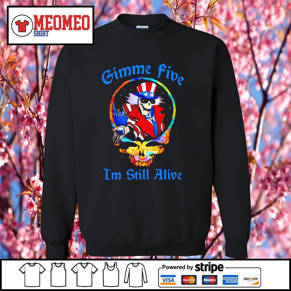 Grateful Dead Gimme five I'm still alive s Sweater