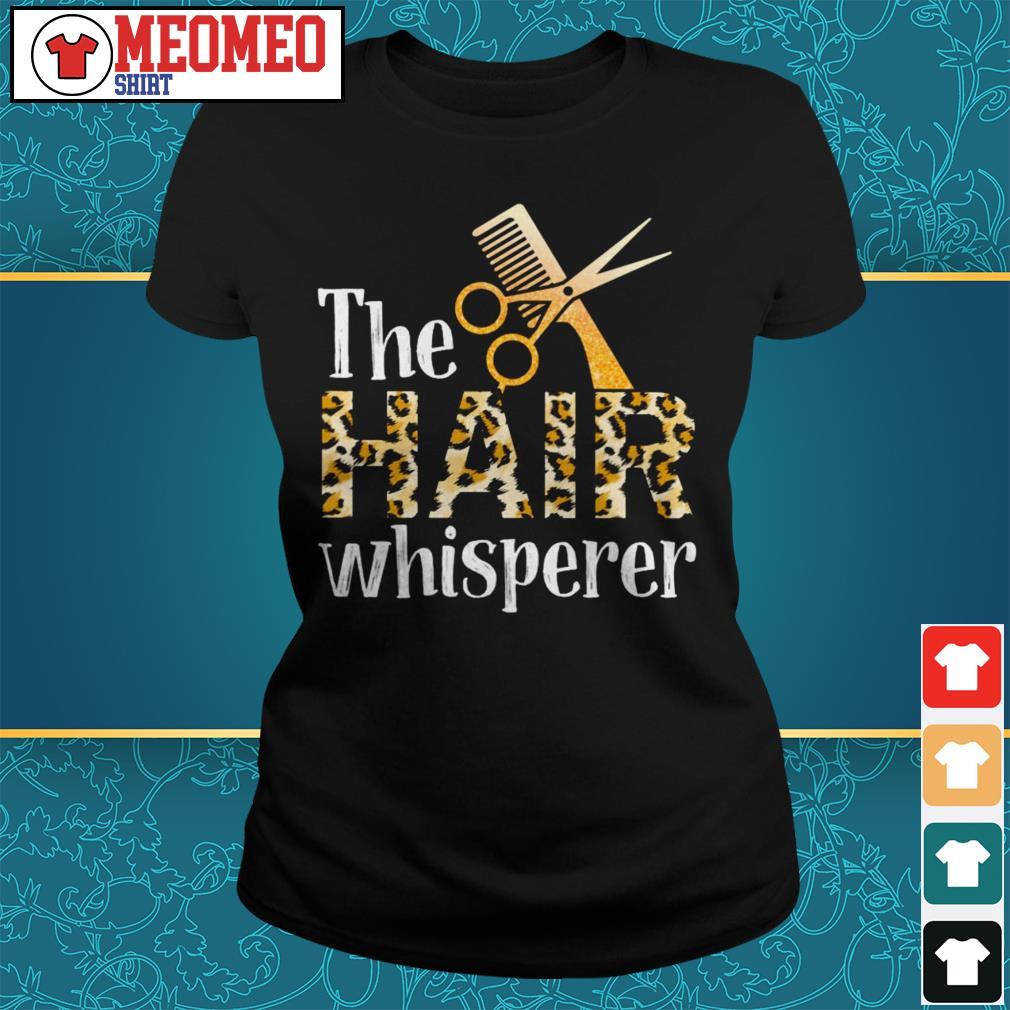 The hair whisperer ladies tee