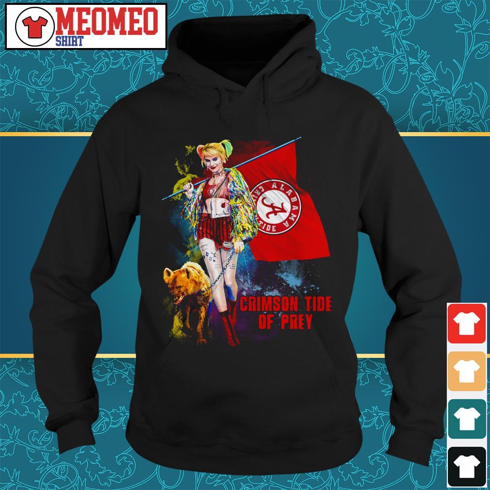 Harley Quinn Crimson Tide Of Prey Hoodie