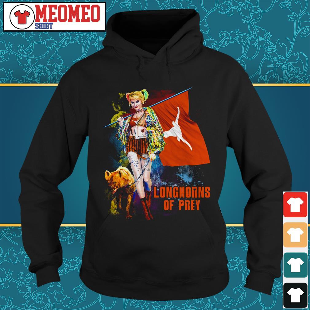 Harley Quinn Longhorns of prey Hoodie
