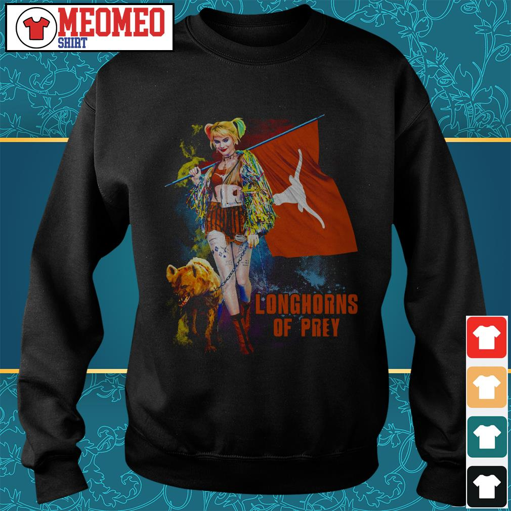 Harley Quinn Longhorns of prey Sweater