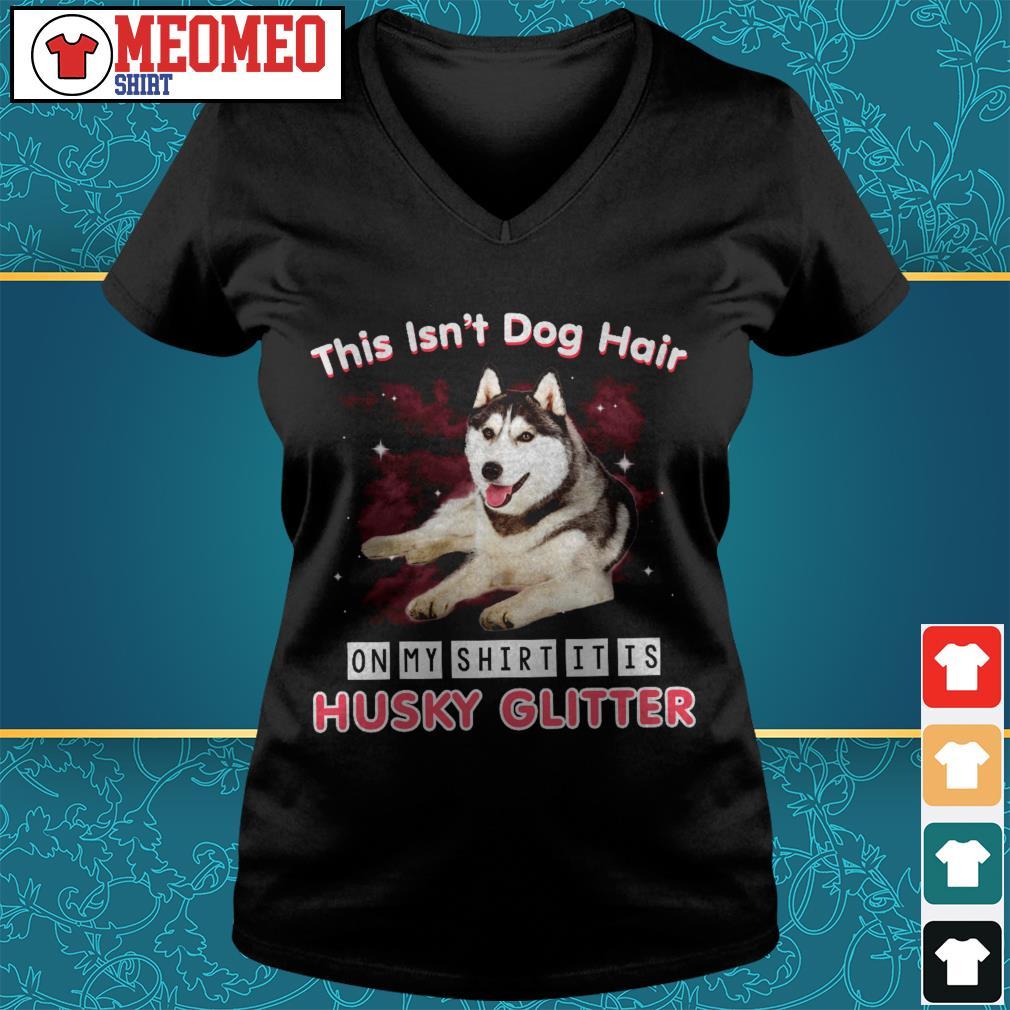 Husky Glitter Shirt And Hoo
