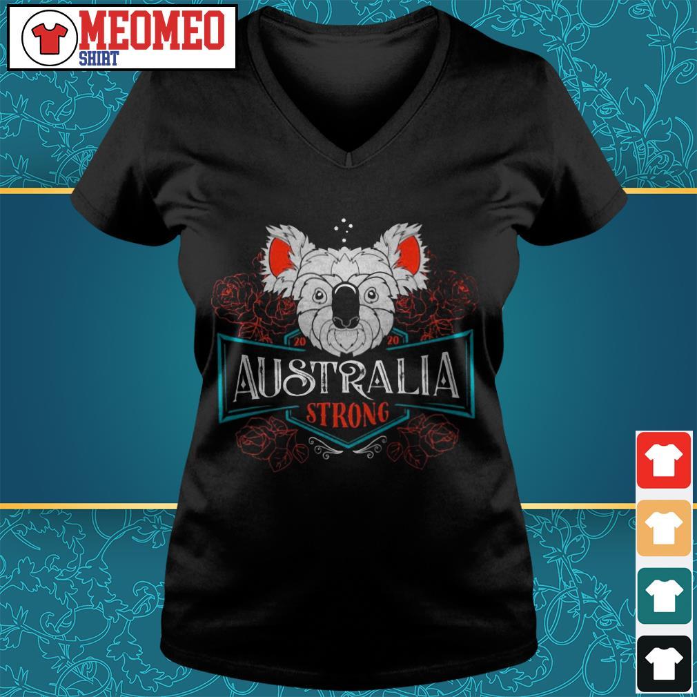 Koala Australia strong V-neck t-shirt