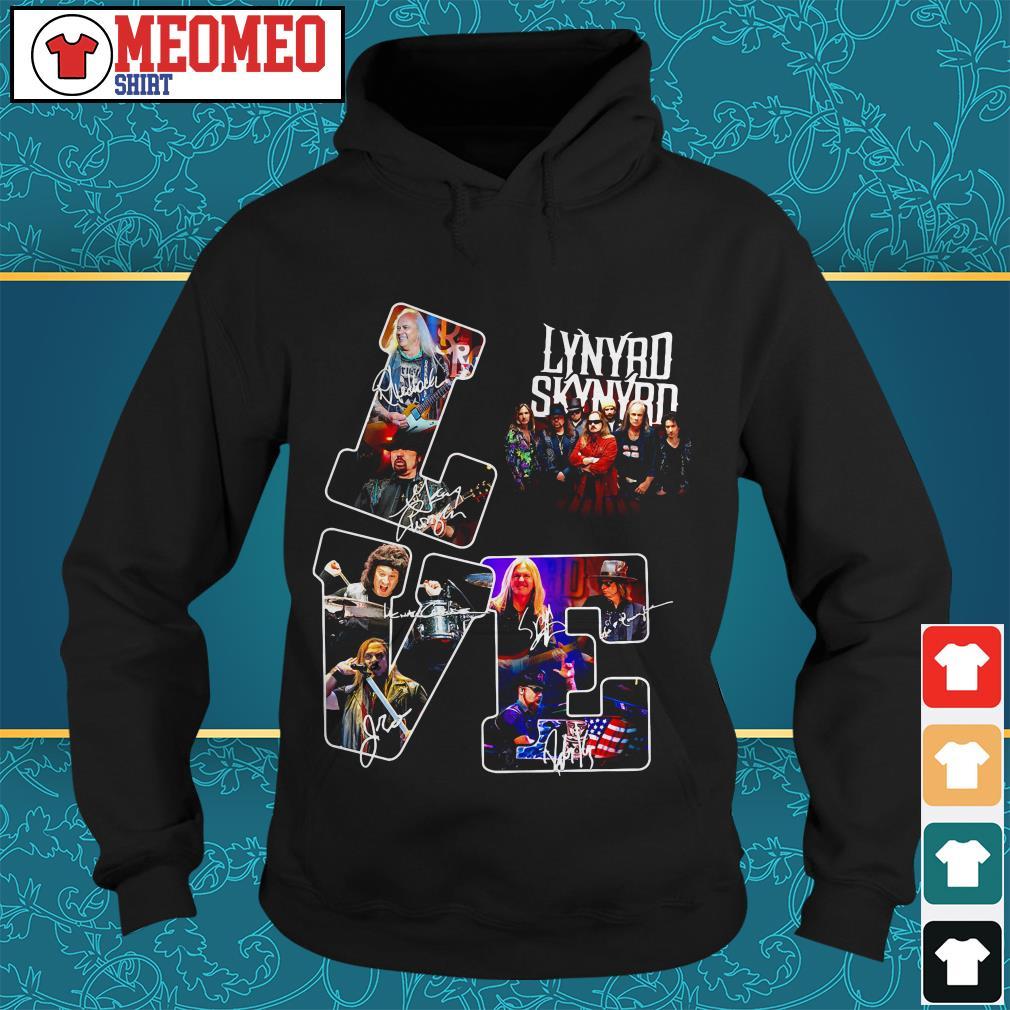 Lynyrd Skynyrd signature love Hoodie