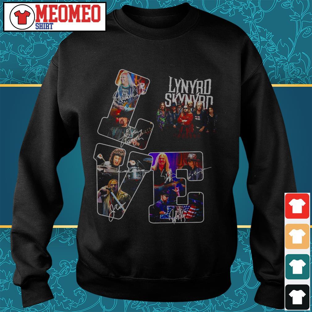 Lynyrd Skynyrd signature love Sweater
