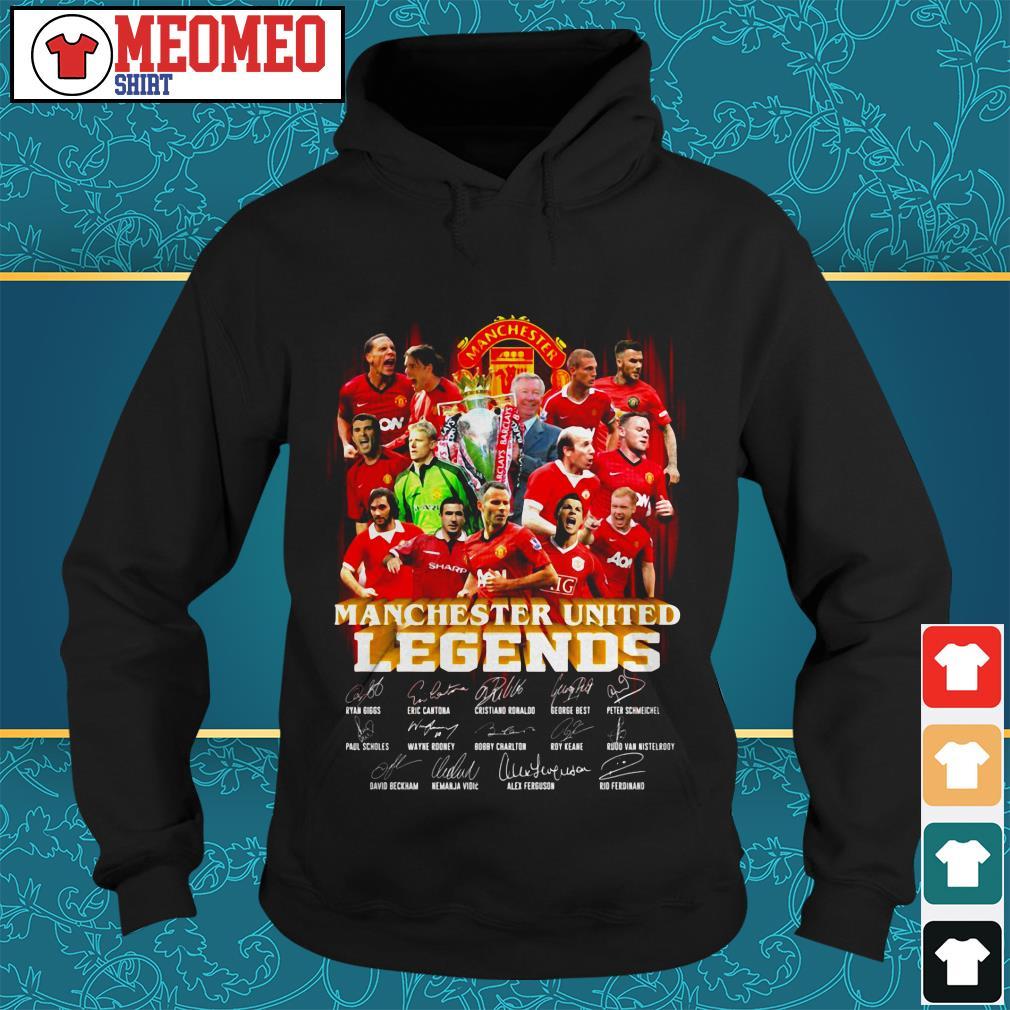 Manchester united legends signature Hoodie