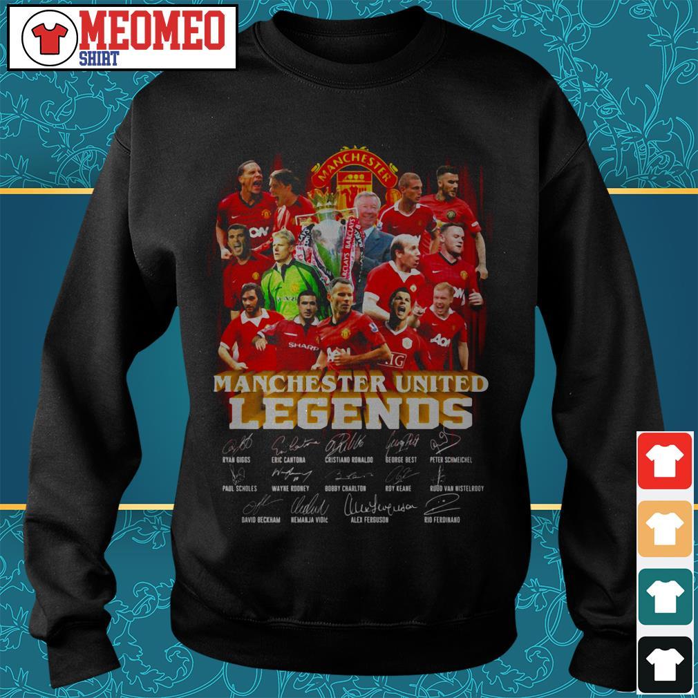 Manchester united legends signature Sweater