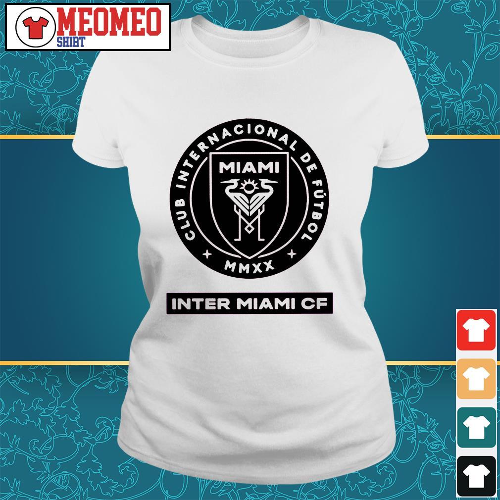 Miami club internacional de futbol inter Miami Cf Ladies tee