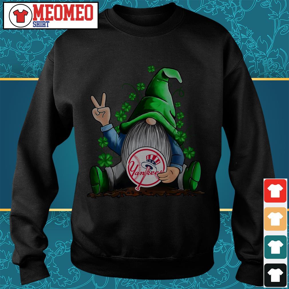 MLB Gnomes Lucky Hug New York Yankees Baseball Sweater