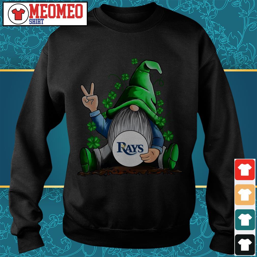 MLB Gnomes Lucky Hug Tampa Bay Rays Baseball Sweater