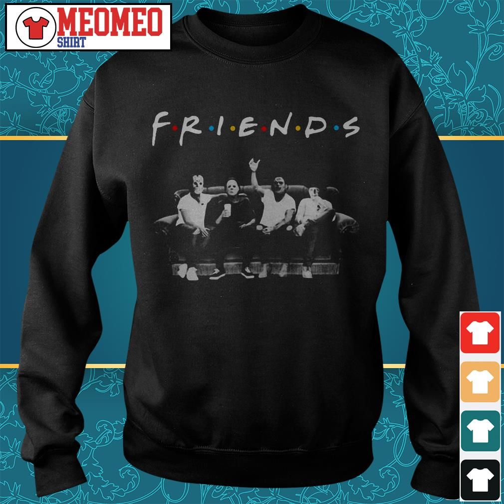 Monsterman Graphic Michael Myers Friends Sweater