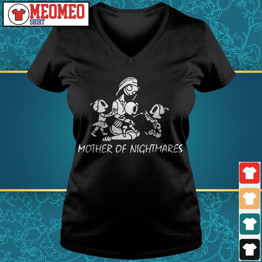 Mother of nightmares V-neck t-shirt