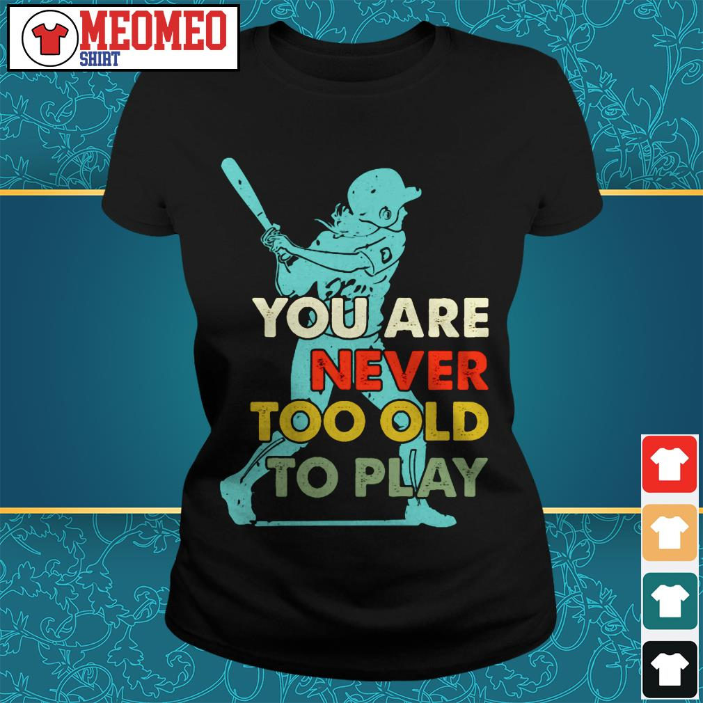 You are never too old to play Ladies tee