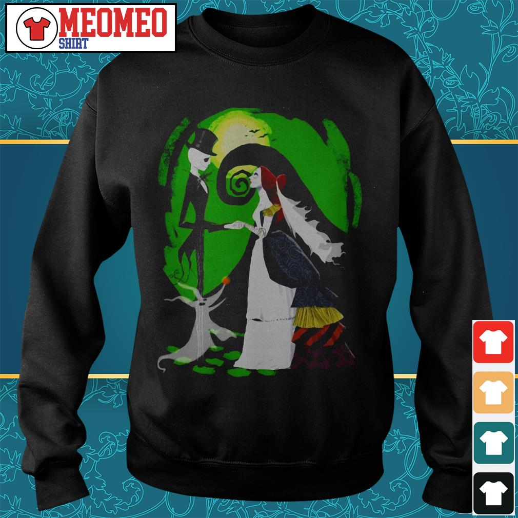 Nightmare before christmas Jack and Sally marry Sweater