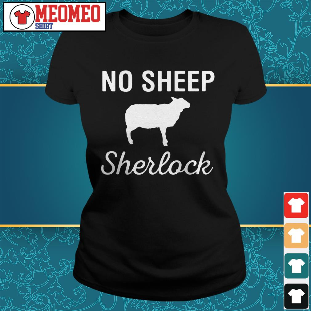 Not sheep Sherlock Ladies tee