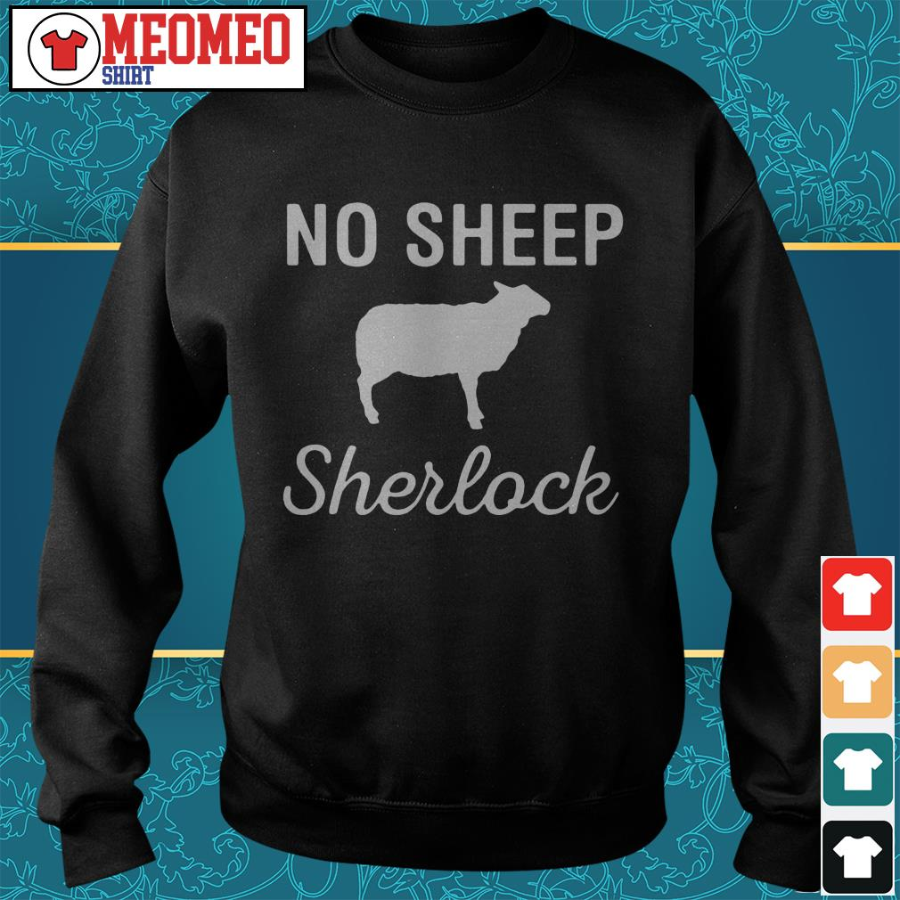 Not sheep Sherlock Sweater