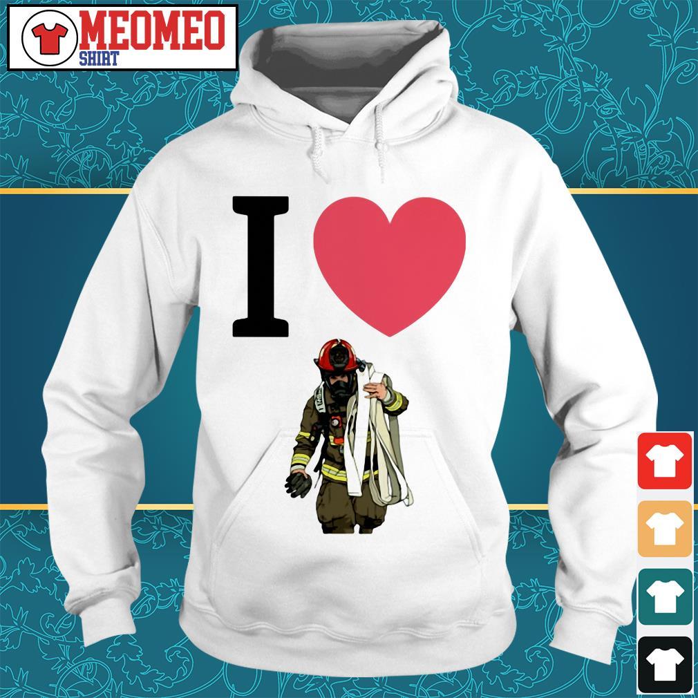 Offical I love fireman Hoodie