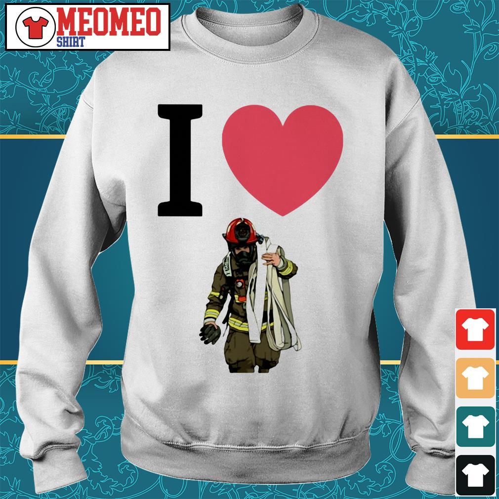 Offical I love fireman Sweater