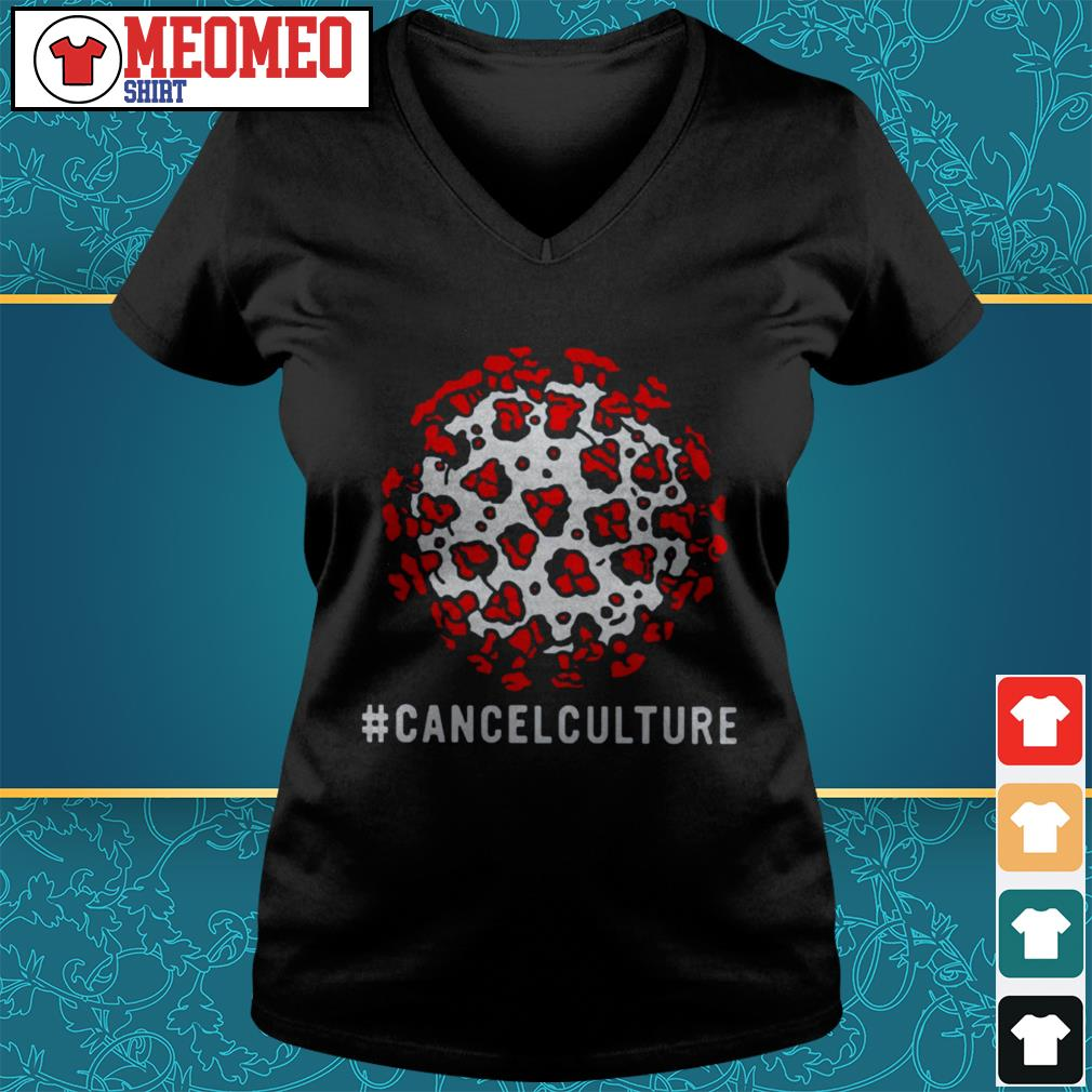 Official Culture Cancelled V-neck t-shirt