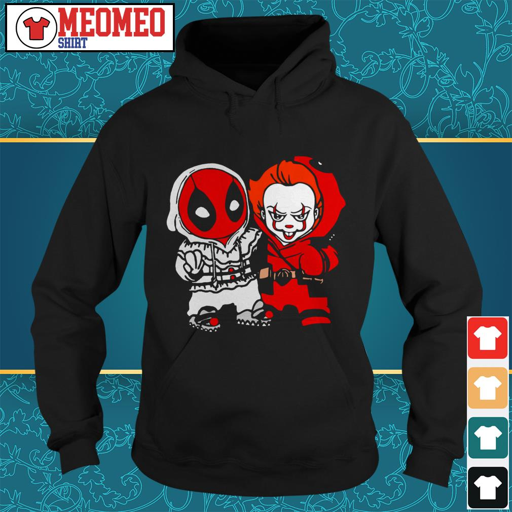 Official Deadpool and Pennywise Hoodie