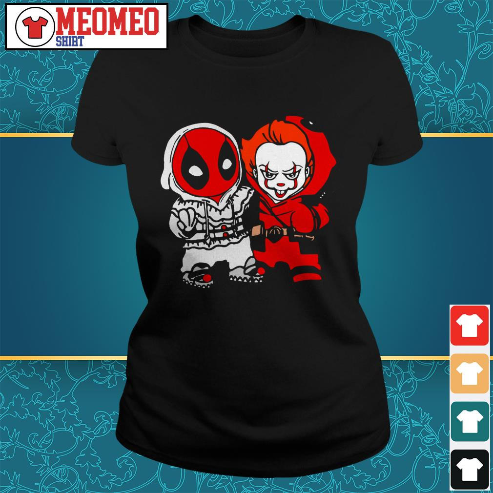 Official Deadpool and Pennywise Ladies tee