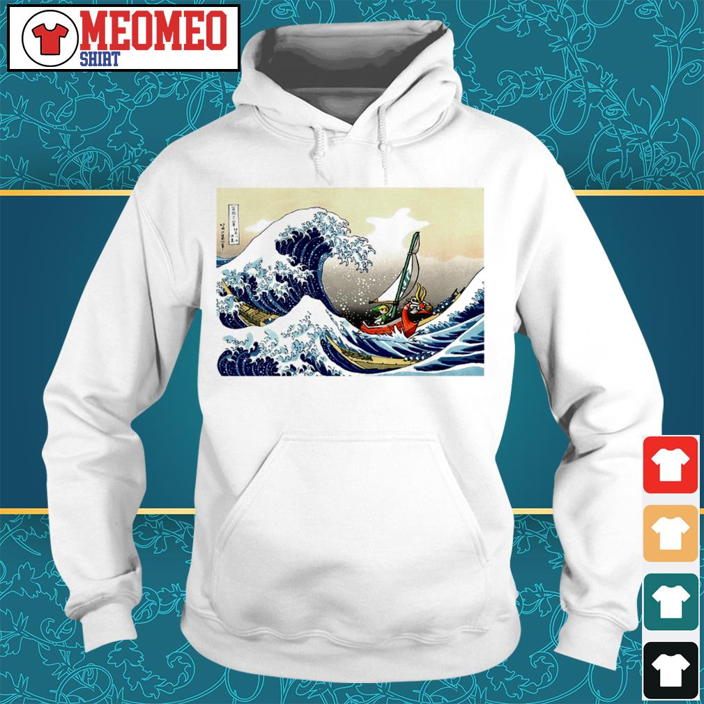 Official The Great Wave off Kanagawa Hoodie