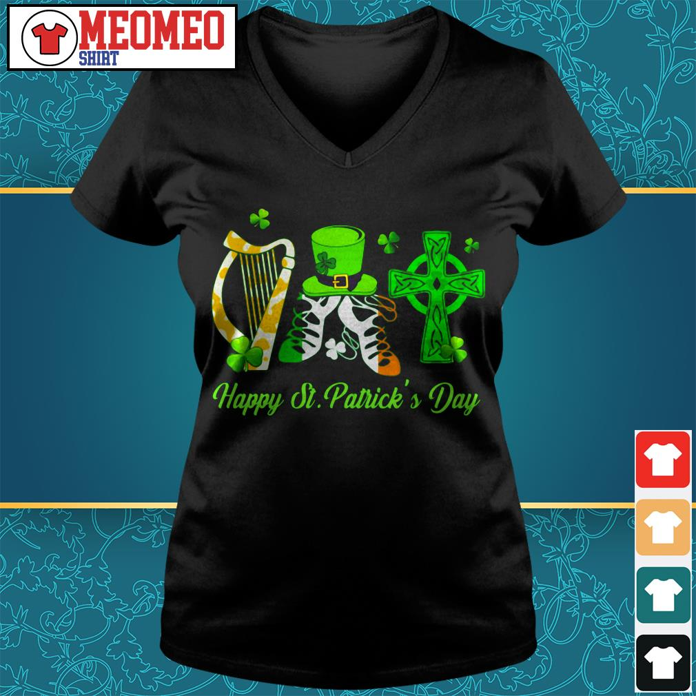 Official Happy Saint patrick's day V-neck t-shirt