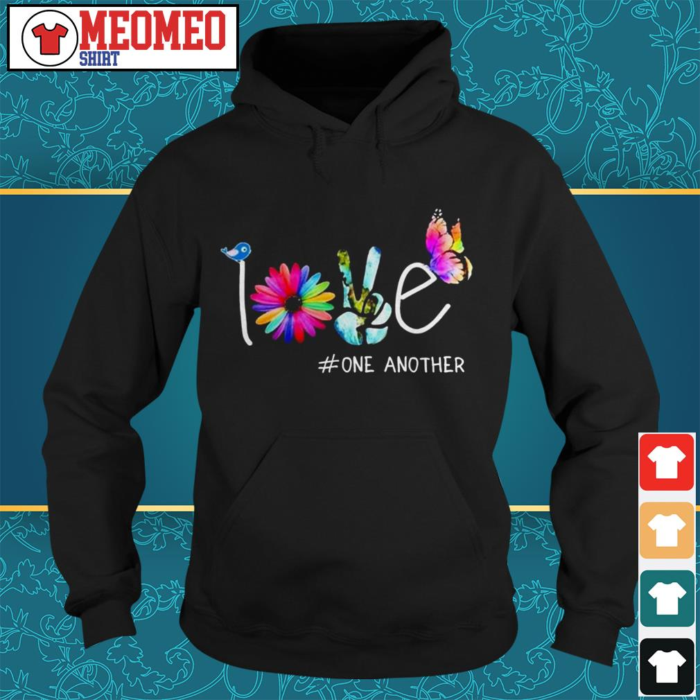 Official love one another Hoodie