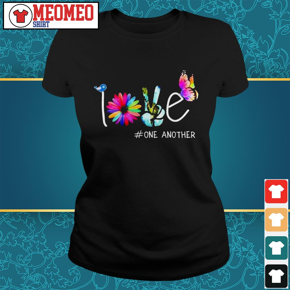 Official love one another Ladies tee