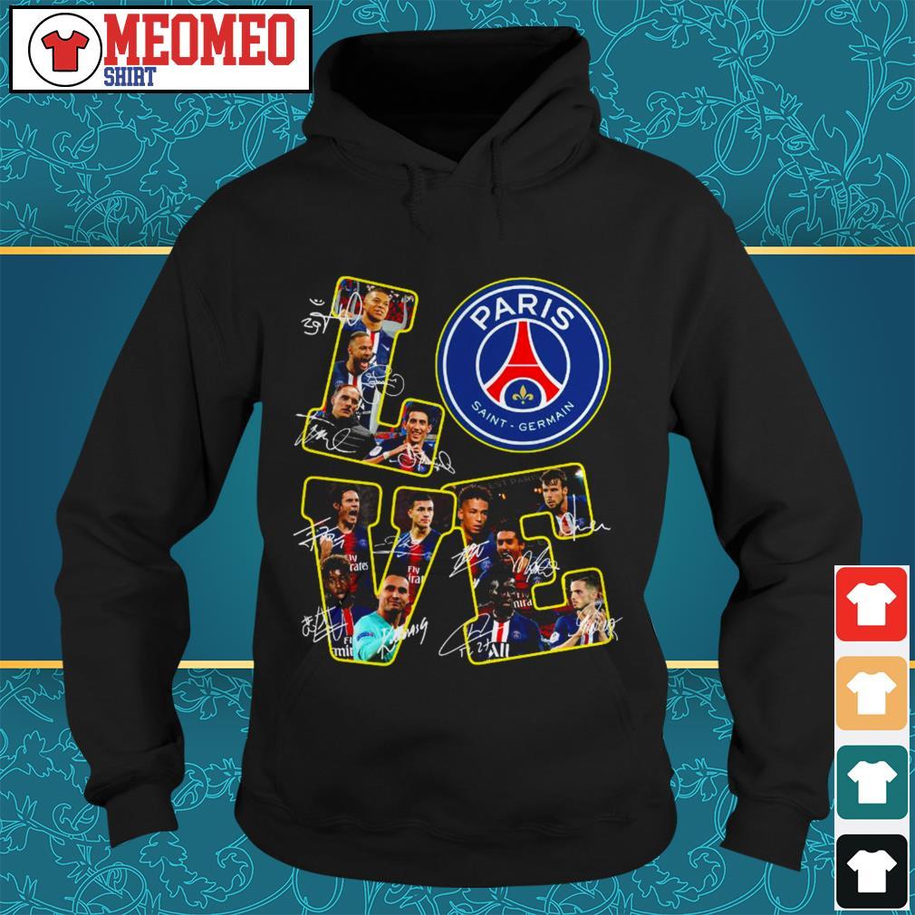 official love Paris Saint Germain Hoodie