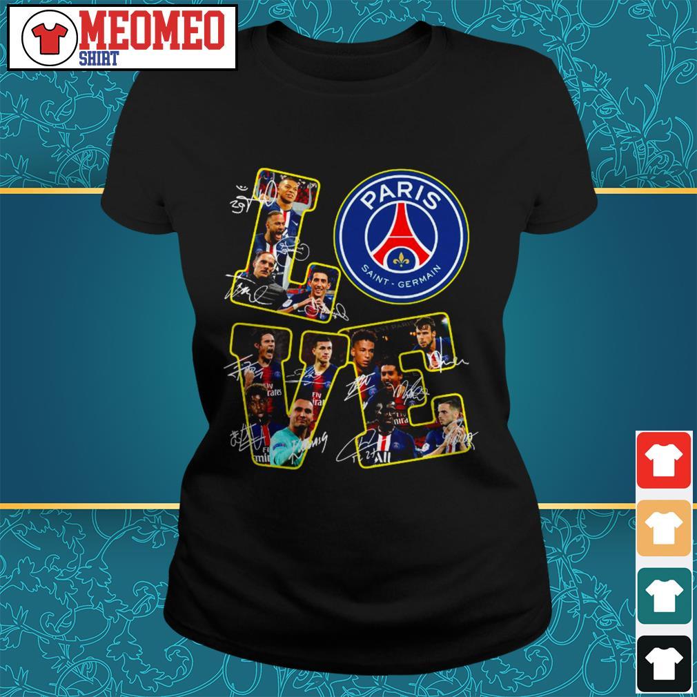official love Paris Saint Germain ladies tee